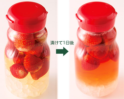 画像7: イチゴ酢の基本の作り方