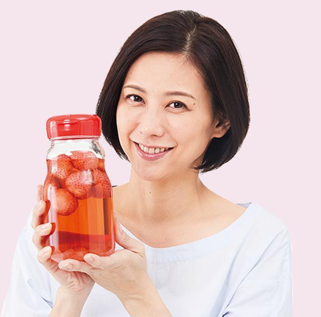 画像: 【イチゴ酢の健康効果】赤い色は抗酸化作用を持つポリフェノール  酢と組み合わせるとアンチエイジングにも