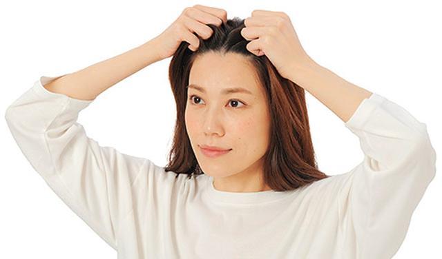 画像1: 髪ひっぱりのやり方