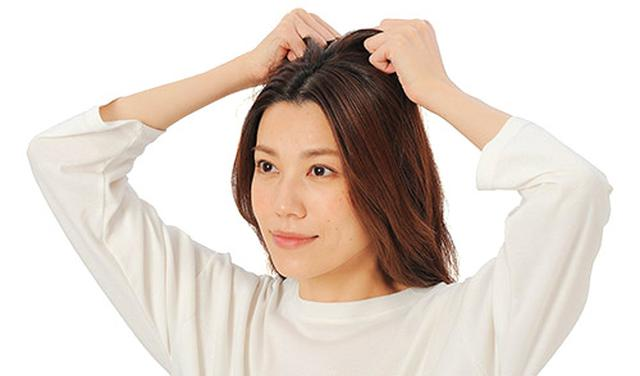 画像2: 髪ひっぱりのやり方