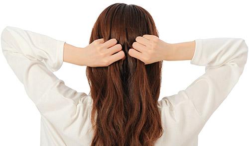 画像4: 髪ひっぱりのやり方