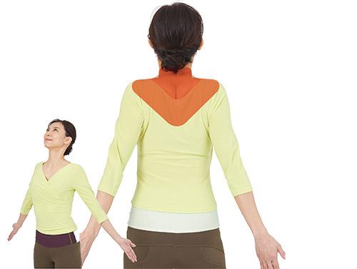 画像: 大きく息を吸ったときのように、首や肩の筋肉がコンパクトに維持できる筋力を取り戻すと、視力が改善。