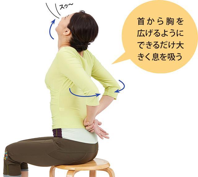 画像2: 肩甲骨寄せ体操