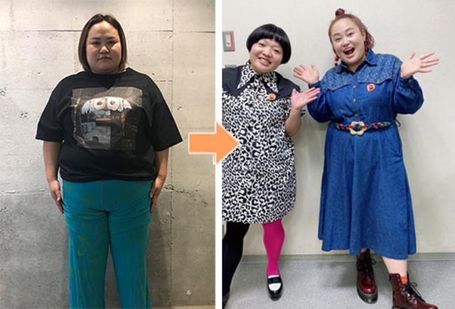 画像: [ダイエット前]体重121kg➡︎[ダイエット後]体重85kg!