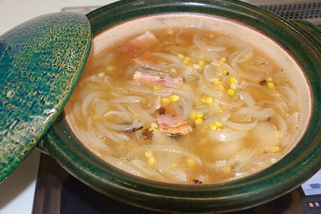 画像: 中島香里さん考案 コンブだしのタマネギスープ