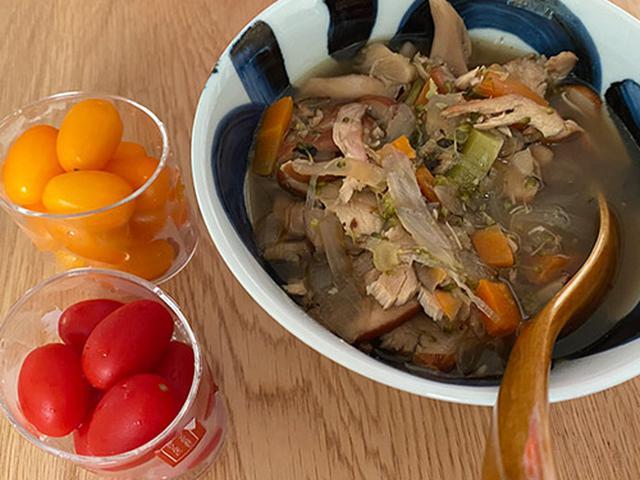 画像: ゆいPさんのダイエットを支えるタマネギスープ。