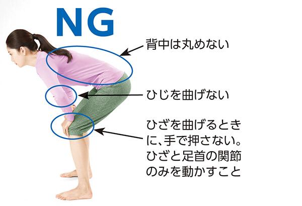 画像4: 足首パタパタのやり方