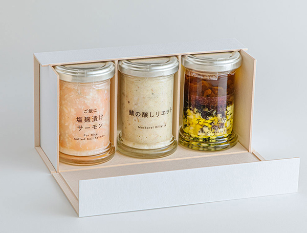 画像: ②美味しいびん詰めセット(¥3,499)