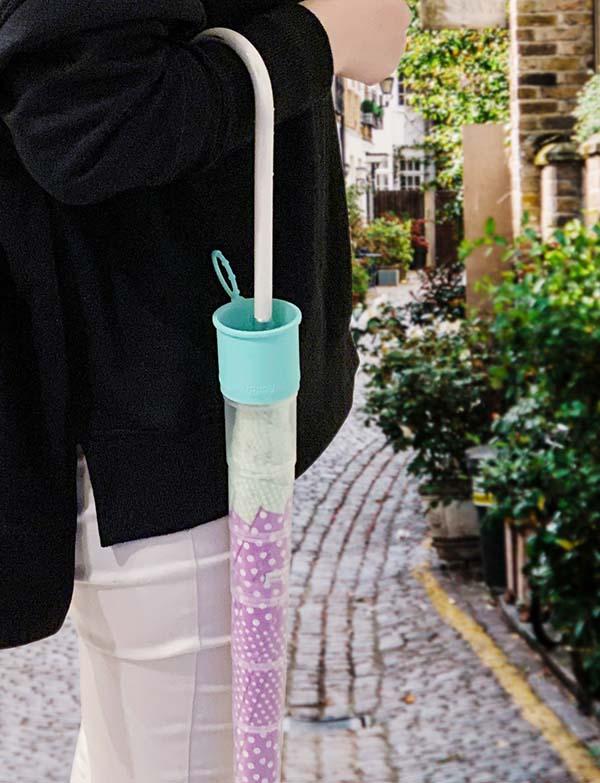 画像1: ビヨーンと伸びる傘カバーの特長