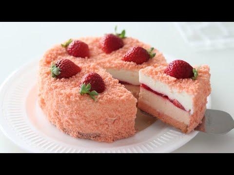 画像: いちごのドゥーブル・フロマージュの作り方*チーズケーキ Strawberry Double Fromage:Cheesecake|HidaMari Cooking youtu.be