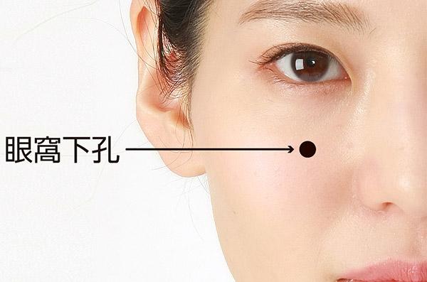 画像: 鼻腔を外側に押し広げる 分間