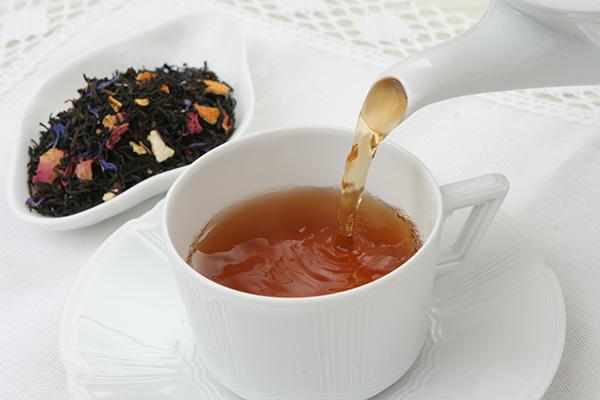 画像: 天然素材にこだわった紅茶。