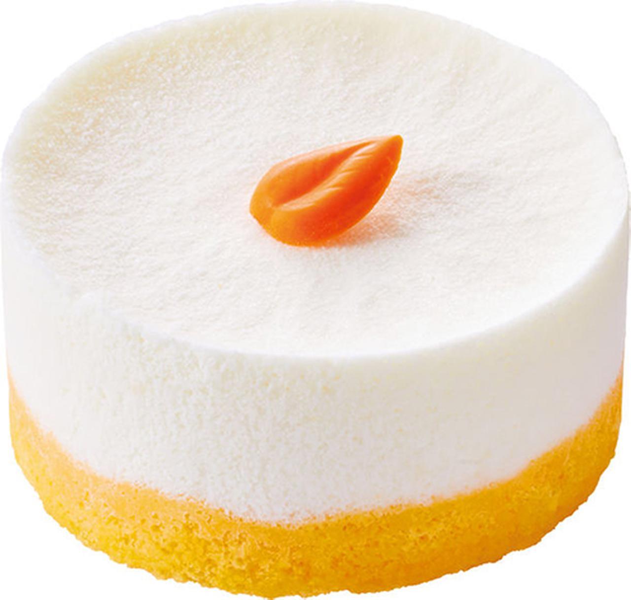 画像: ふわふわ食感「口どけオレンジ」