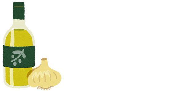 画像: ニンニクとオリーブ油を炒めるだけ!