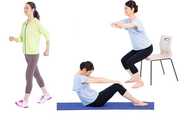 画像1: 【腎機能を高める運動】透析患者の体調とQOLが向上  簡単・安全にできる「おうち筋トレ」のやり方
