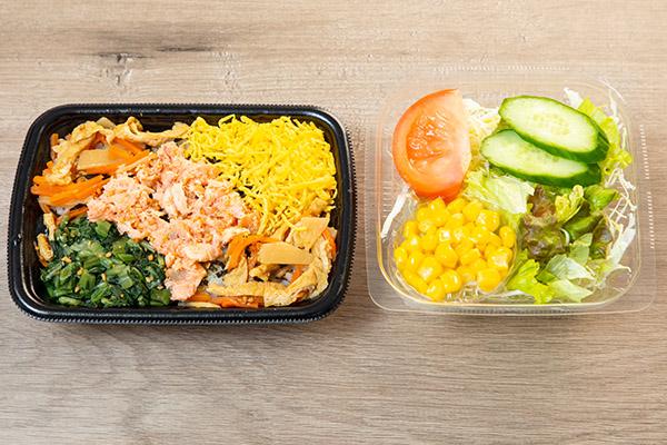 画像: スーパー大麦弁当で食物繊維を摂取