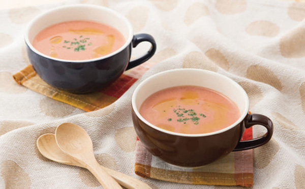 画像: のどごしのいいスープで栄養補給&腸活!