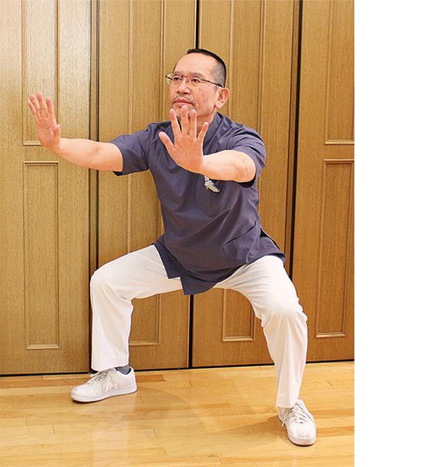 画像2: 宇佐見先生のゆっくりスクワット