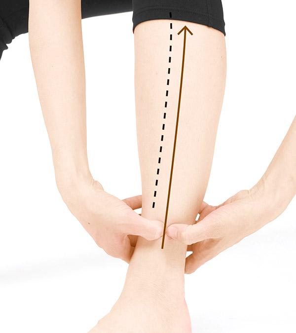 画像3: 足の骨際はがしのやり方