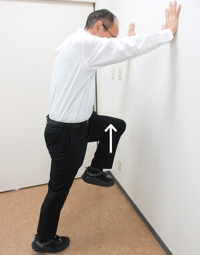 画像: 平泉先生の股関節筋トレ 1. もも上げ