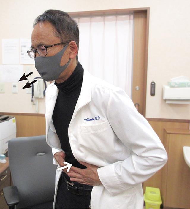 画像: 奥仲先生の呼吸筋トレ