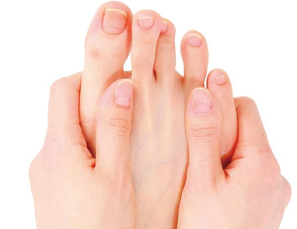 画像1: ② 足指ブリッジ