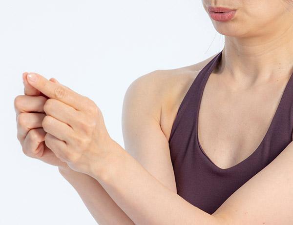画像4: 食欲が鎮まり自然にダイエットできる指ポーズ