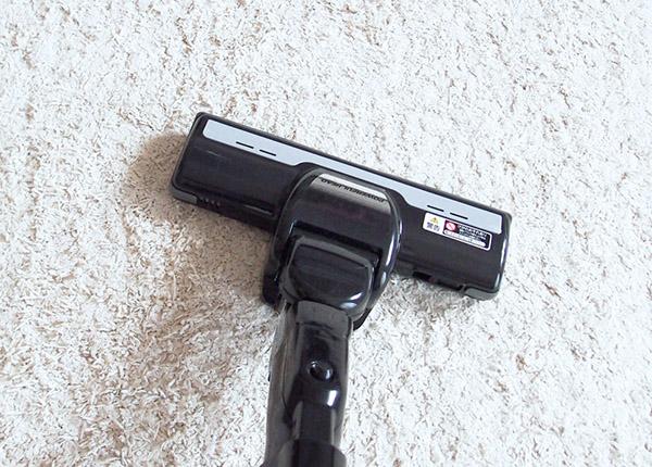 画像: 掃除機は後で軽くゆっくりかける