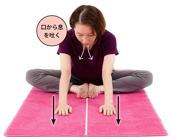 画像2: 股関節伸ばし [要の操法第1動]