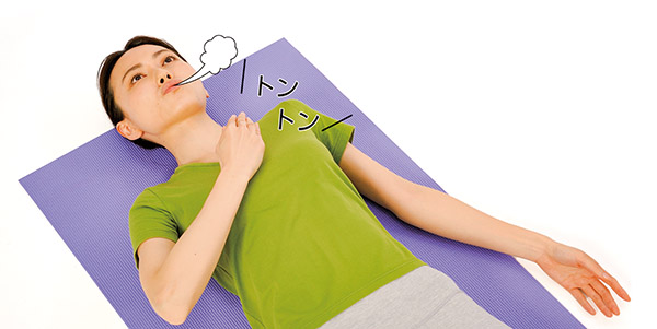 画像4: トントン肺たたきのやり方