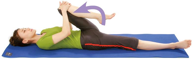 画像1: 腸骨筋ストレッチのやり方