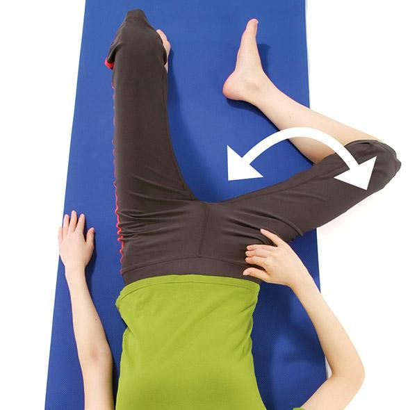 画像4: 腸骨筋ストレッチのやり方