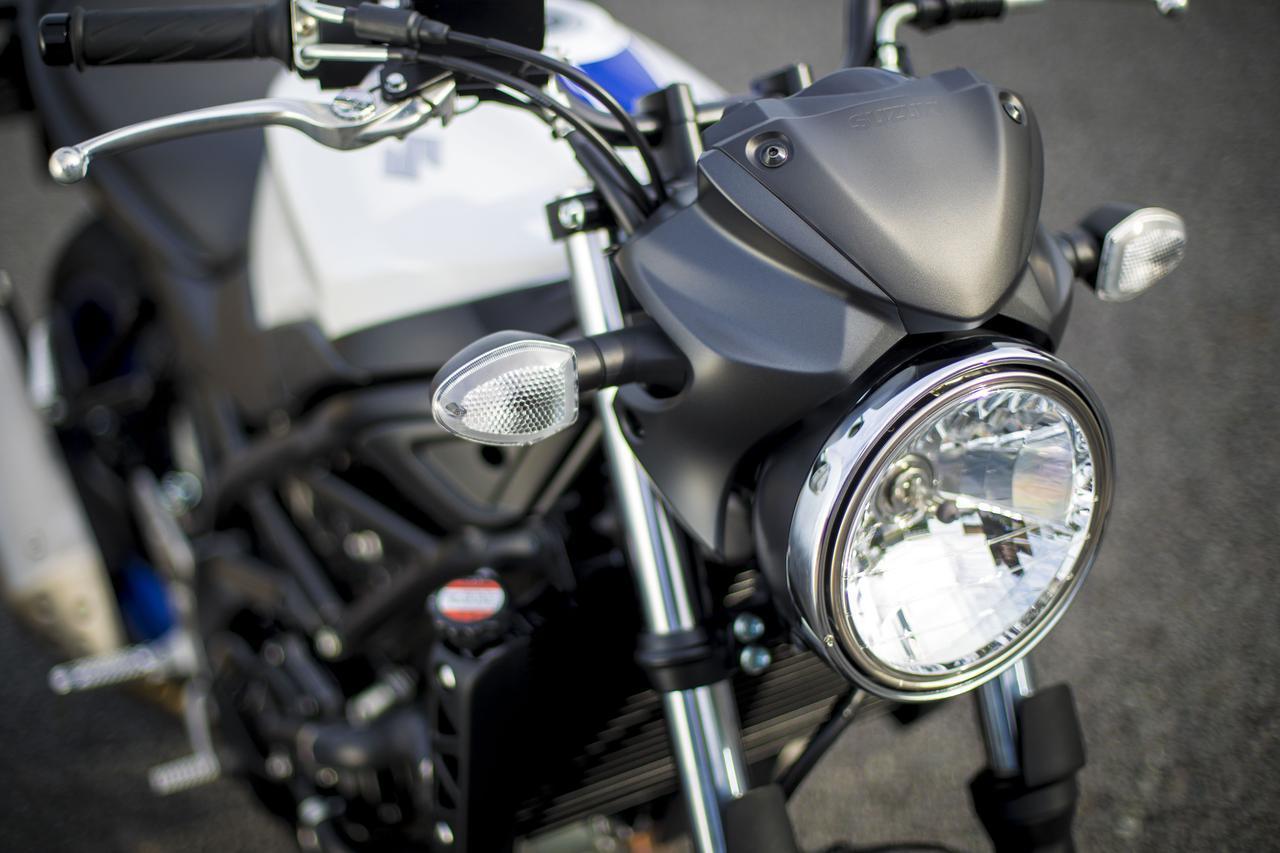 画像: 最新モデルのSV650はこちらから!