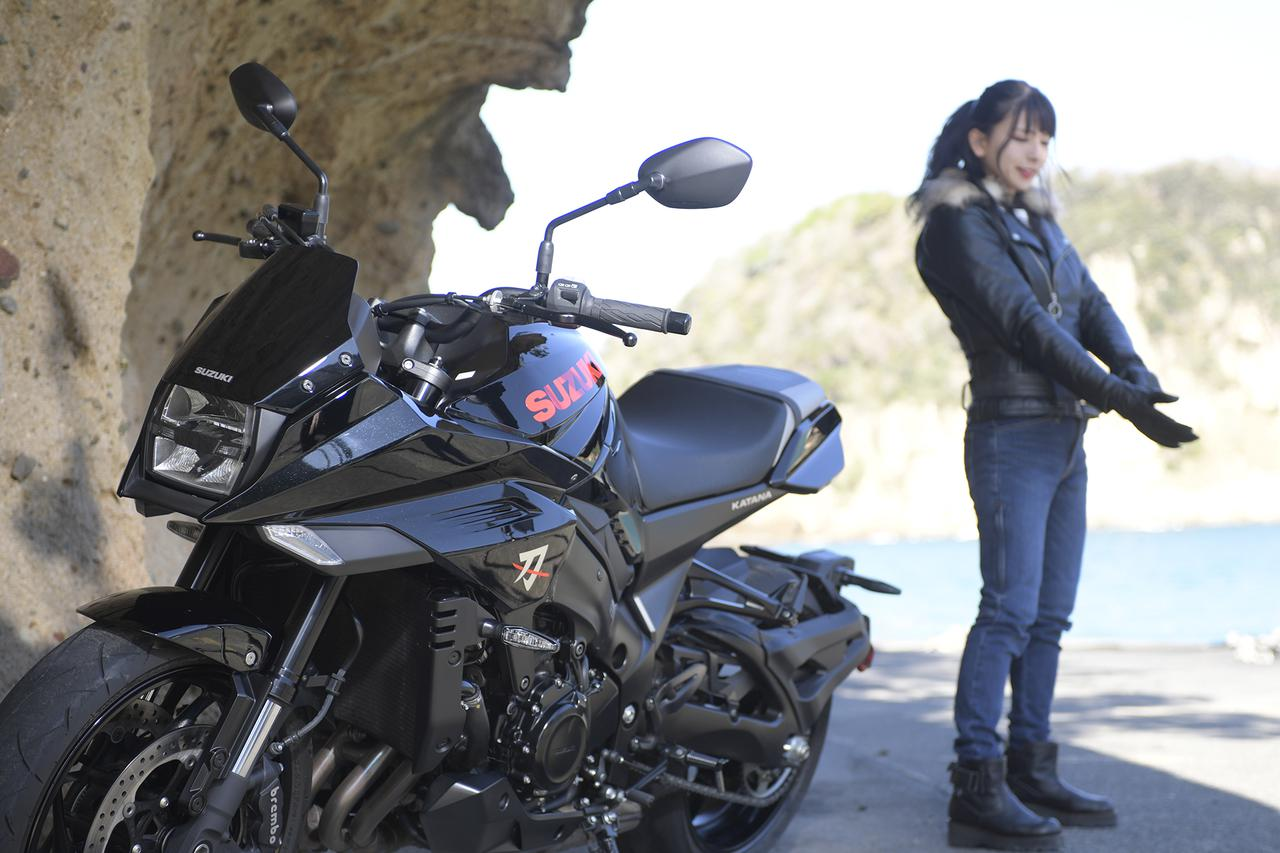 Images : 2番目の画像 - 葉月美優×KATANAの写真をもっと見る! - webオートバイ