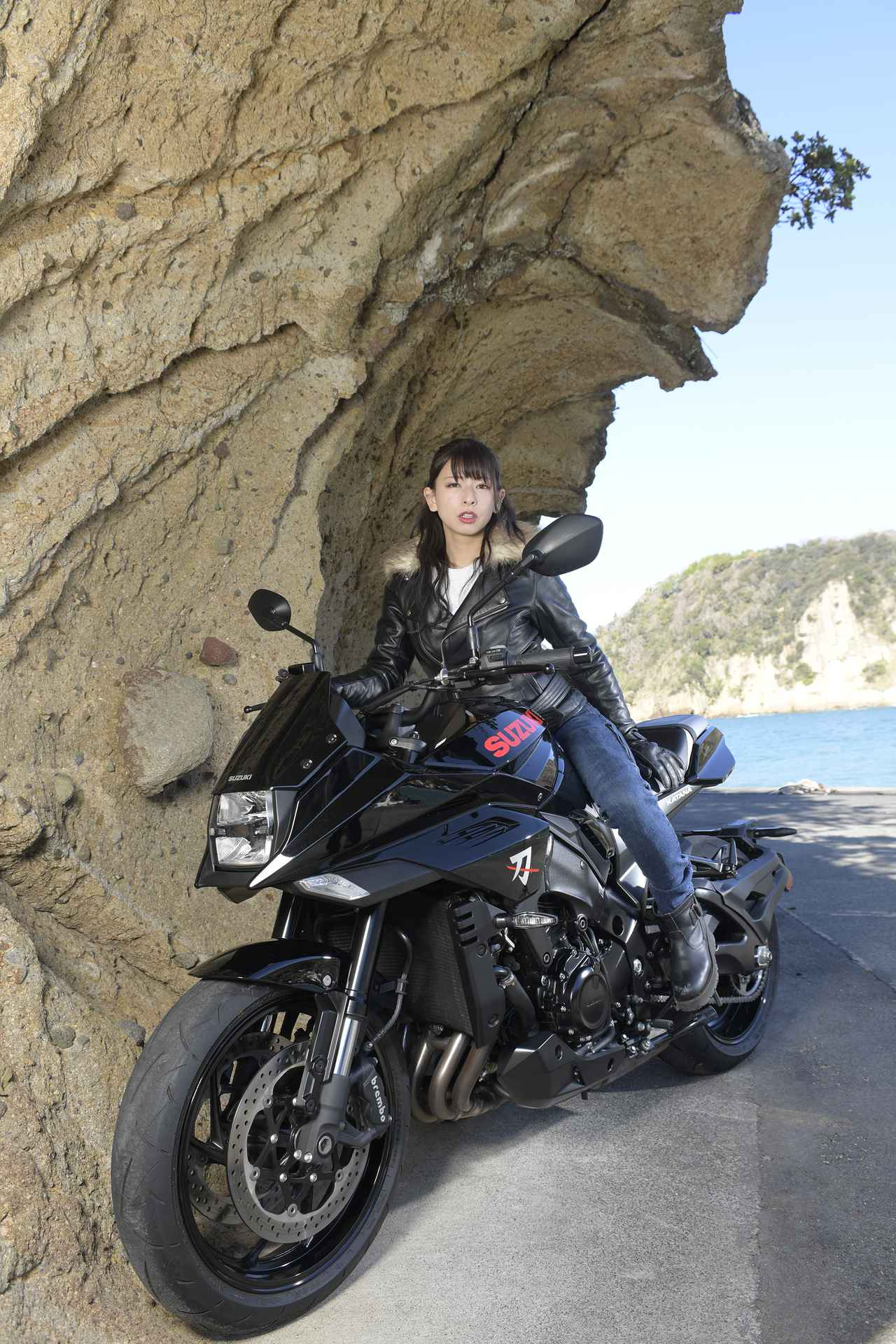 Images : 4番目の画像 - 葉月美優×KATANAの写真をもっと見る! - スズキのバイク!- 新車情報や最新ニュースをお届けします