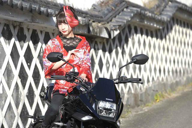 画像: 葉月美優×KATANA①【スズキのバイク!と女子ライダーのPHOTO GRAVURE】 - スズキのバイク!