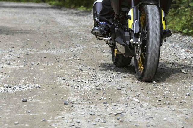 画像: アドベンチャーバイクとしての底力を秘めるV-strom 1000XT