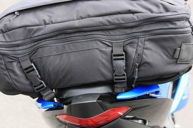 画像: ③ バックルをバッグに固定して完成!