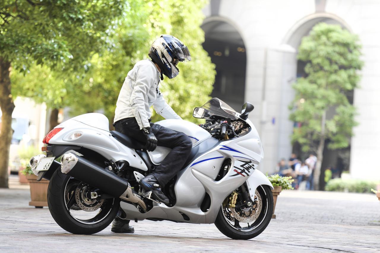 画像: 隼って街で乗ってると、ものすごく声を掛けられるバイクだと思い知りました(笑)