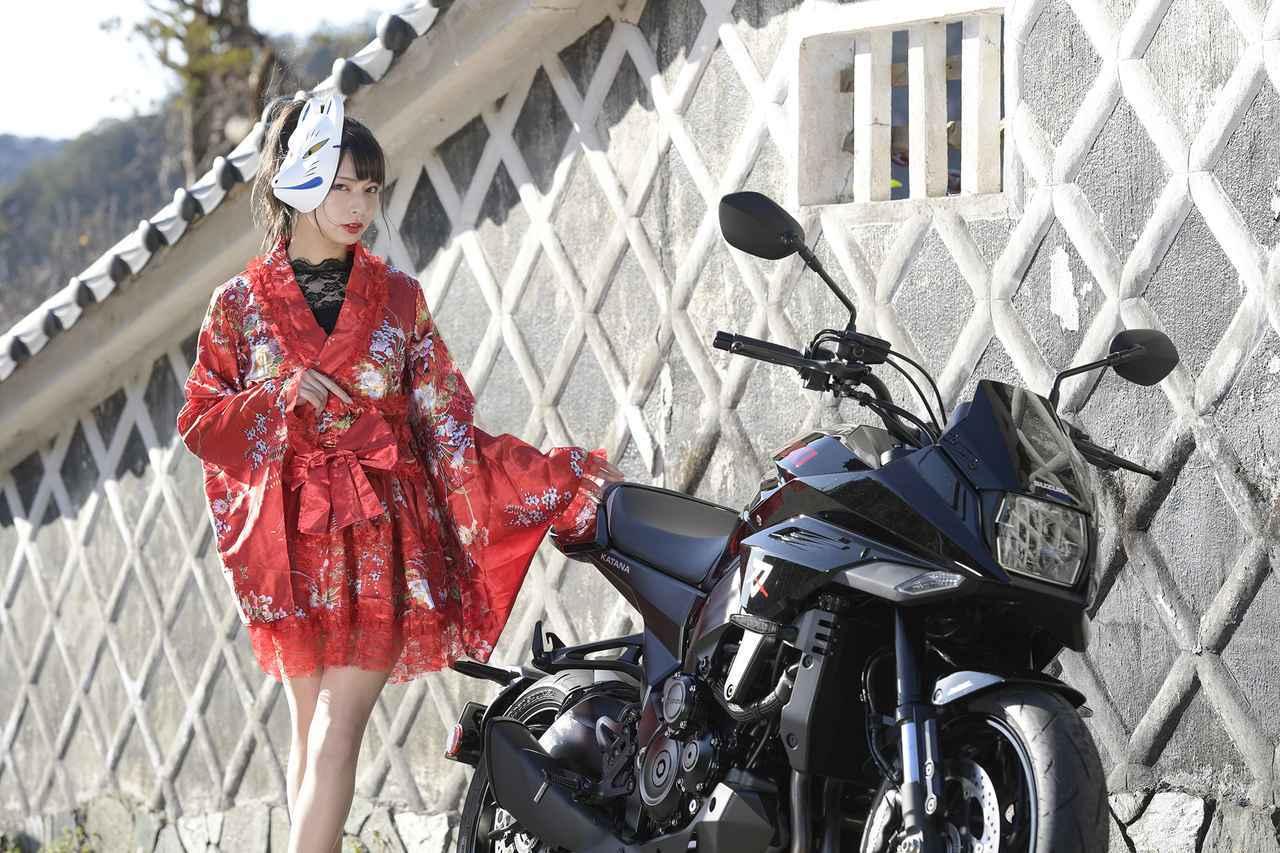 画像: 葉月美優×KATANA①【スズキのバイク!と女子ライダーのPHOTO GRAVURE】