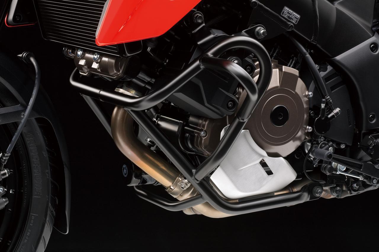 画像3: 価格差は8万8000円。新型『Vストローム1050』と上級モデル『Vストローム1050 XT』は何が違う?【SUZUKI V-Strom1050/装備編】