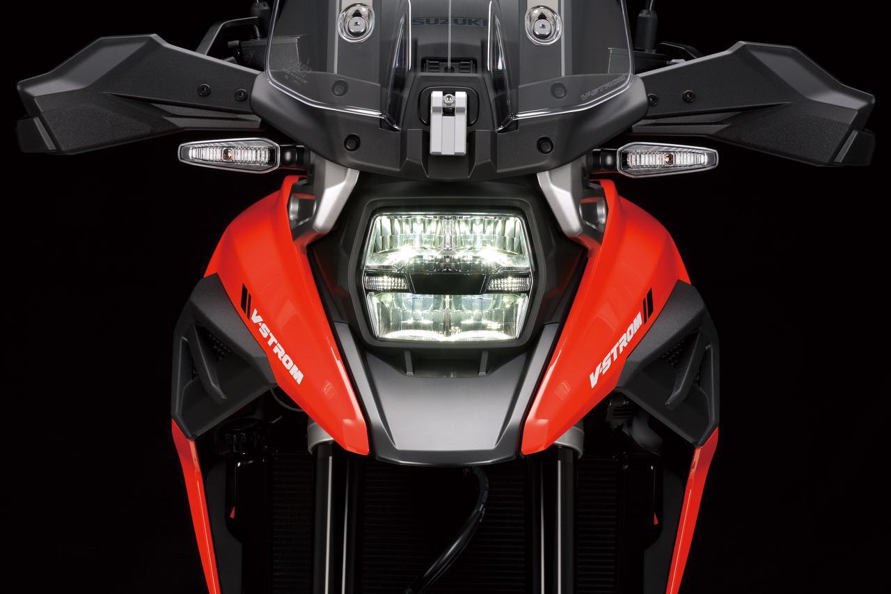画像: 新型Vストローム1050は最高出力で7馬力のパワーアップ