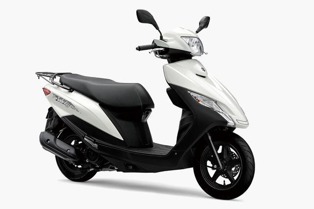 画像: SUZUKI アドレス125 総排気量:124cc メーカー希望小売価格(税込):22万5500円