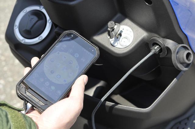 画像: USB電源ソケットを標準装備