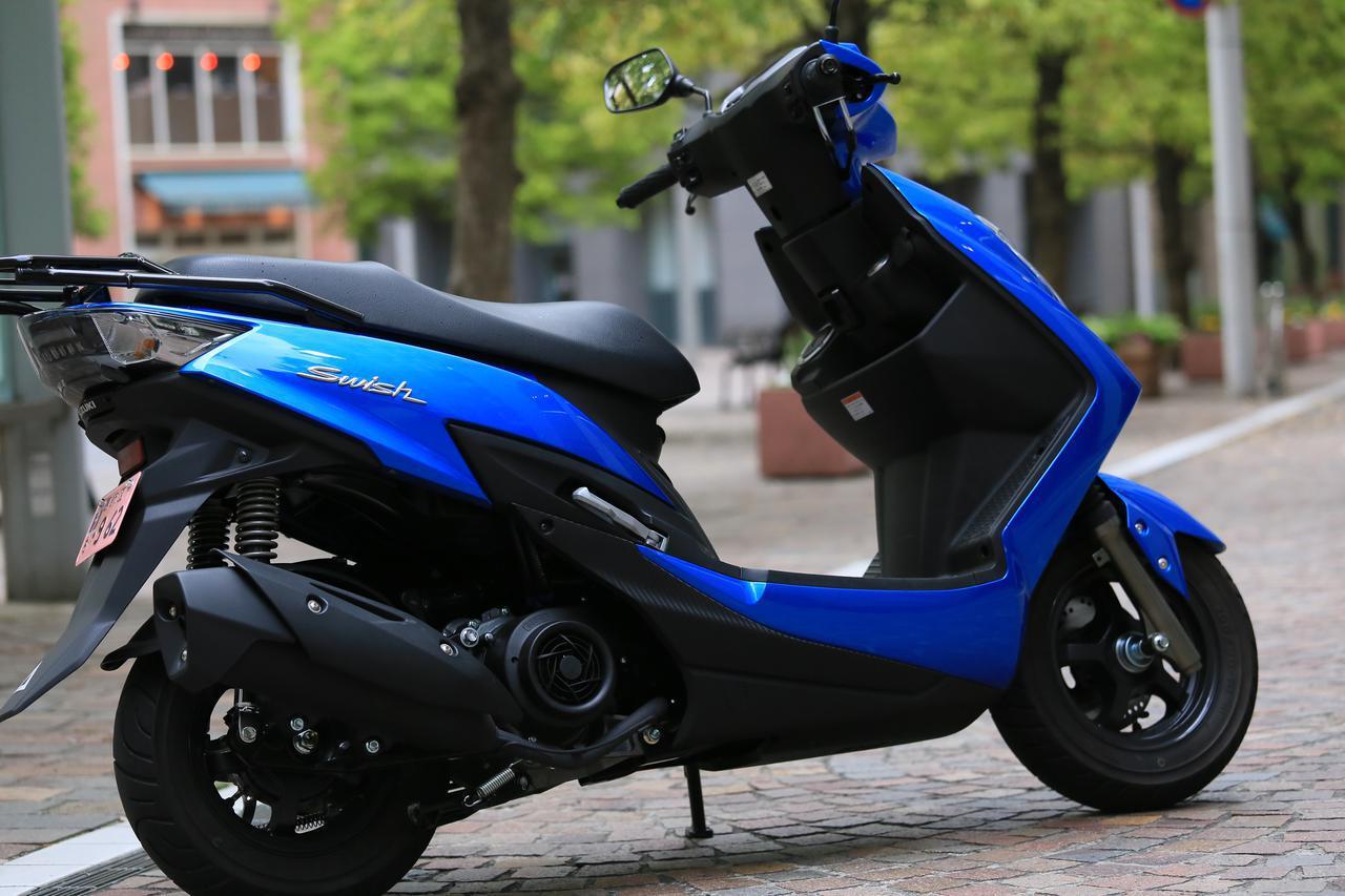 画像: もうひとつの原付二種/125ccスクーターはこちら