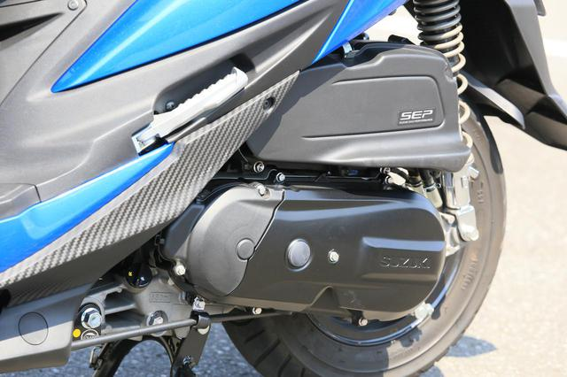 """画像8: 原付二種スクーターの『違いがわかる人』にこそおすすめしたい。この125ccはバイクとして""""こだわり""""の塊です! 【穴が空くまでスズキを愛でる/スウィッシュ 試乗インプレまとめ】"""