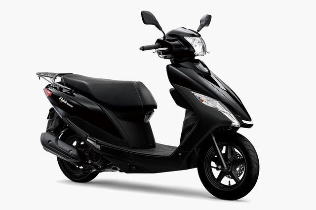 画像: SUZUKI アドレス125 [フラットシート仕様] 総排気量:124cc メーカー希望小売価格(税込):23万1000円