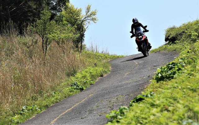 画像2: アドベンチャーバイクとしてのVストローム1050は?