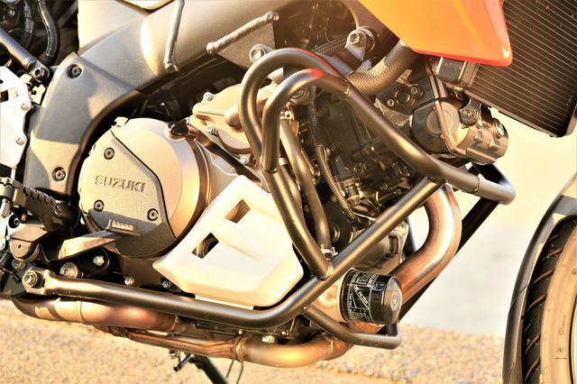 画像2: Vストローム1050のエンジンは『味わい』も手に入れた