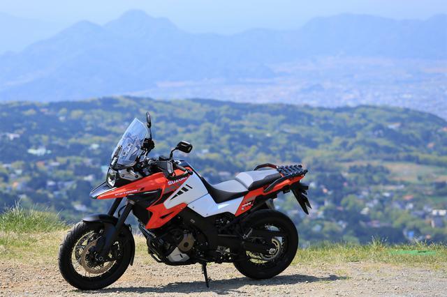 画像1: アドベンチャーバイクとしてのVストローム1050は?